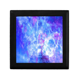 Les rêves parisiens de l'amant petite boîte à bijoux carrée