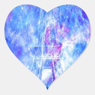 Les rêves parisiens de l'amant sticker cœur