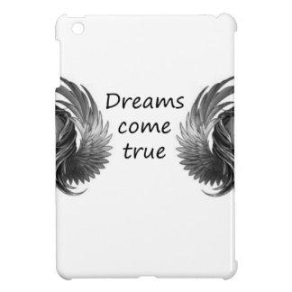 les rêves viennent étui iPad mini