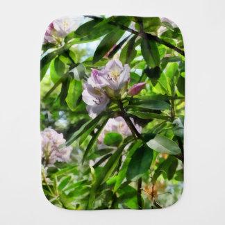 Les rhododendrons sont en fleur linges de bébé