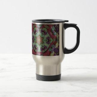 Les riches rares ont coloré le résumé moderne mug de voyage en acier inoxydable