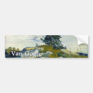 Les roches par Vincent van Gogh Autocollant Pour Voiture