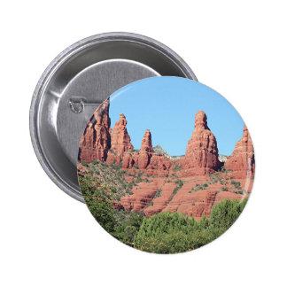 Les roches s'approchent de Sedona, Arizona, Badges