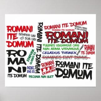 Les Romains rentrent à la maison ! Affiche de Posters
