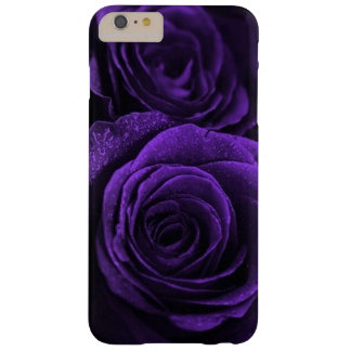 Les roses pourpres les plus profonds et les plus coque barely there iPhone 6 plus