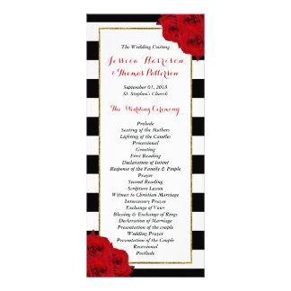 Les roses rouges de collection Luxe moderne chic Carte Publicitaire