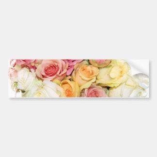 Les roses sont You_ Autocollant Pour Voiture