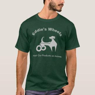 Les roues d'Eddie foncées T-shirt