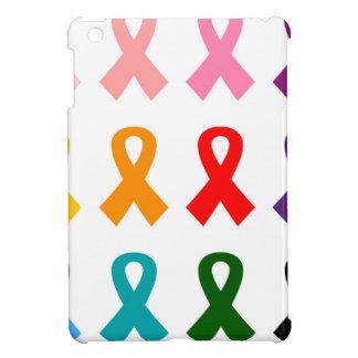 Les rubans colorés ont illustré la collection coques iPad mini