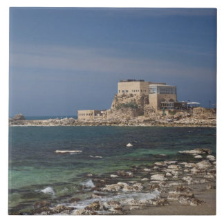 Les ruines de Césarée du port ont construit par He Grand Carreau Carré