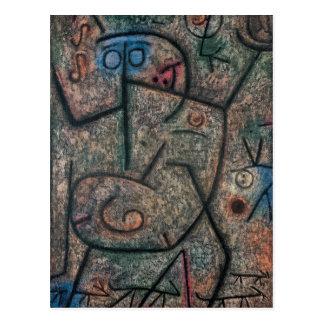 Les rumeurs par Paul Klee Cartes Postales