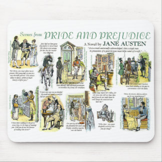 Les Scenes from Pride and Prejudice Tapis De Souris