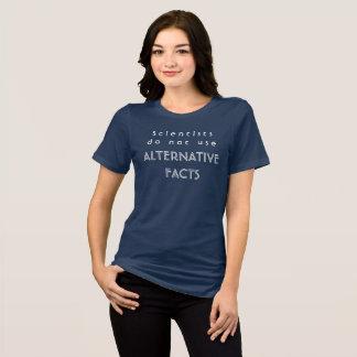 Les scientifiques n'emploient pas des faits t-shirt
