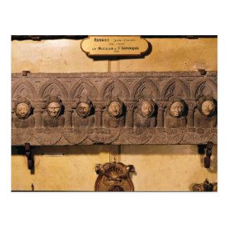 Les sept péchés mortels carte postale