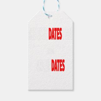 Les seules dates où j'obtiens sont des mises à étiquettes-cadeau