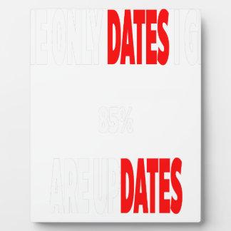 Les seules dates où j'obtiens sont des mises à plaque d'affichage