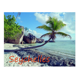 Les Seychelles Carte Postale