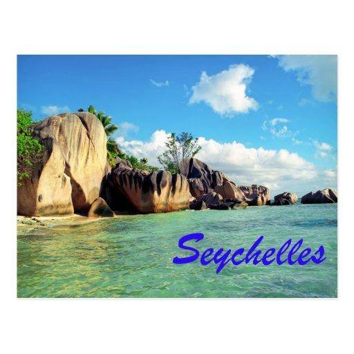 Les Seychelles Carte Postale   Zazzle