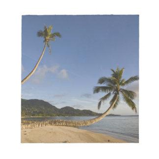 Les Seychelles, île de Mahe, paume horizontale, Blocs Notes