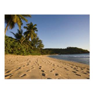 Les Seychelles île de Mahe plage d Anse Takamaka Carte Postale