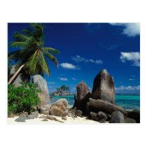 Les Seychelles, île de Mahe, plage d'Anse Royale Carte Postale