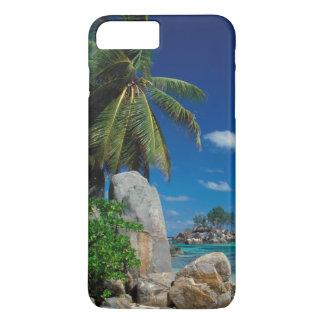Les Seychelles, île de Mahe, plage d'Anse Royale Coque iPhone 7 Plus