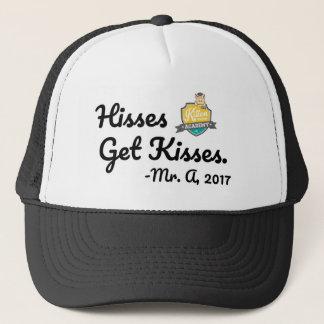 Les sifflements obtiennent le casquette de baisers