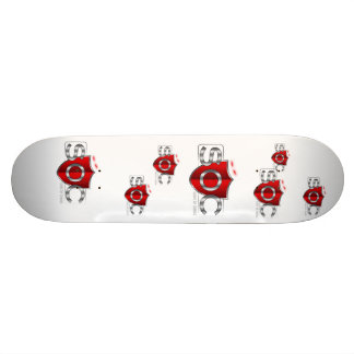 Les SOC accomplissent la planche à roulettes Skateboard 20 Cm