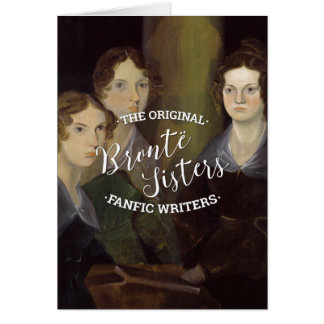 Les soeurs de Bronte - les auteurs originaux de Carte De Vœux
