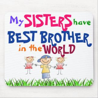Les soeurs ont le meilleur frère Mousepad Tapis De Souris