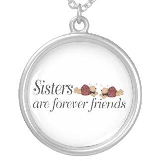 Les soeurs sont pour toujours des amies collier