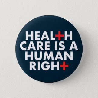Les soins de santé sont un bouton de droit de badges