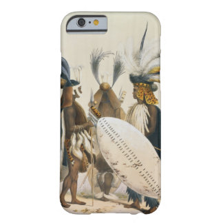 Les soldats de zoulou d'Army du Roi Panda's, Coque Barely There iPhone 6
