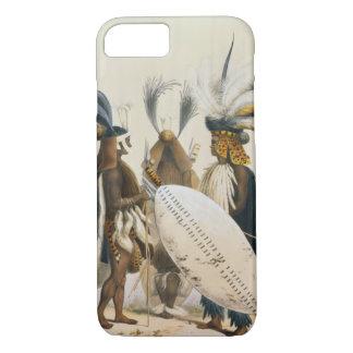 Les soldats de zoulou d'Army du Roi Panda's, Coque iPhone 8/7