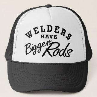 Les soudeuses ont… casquette