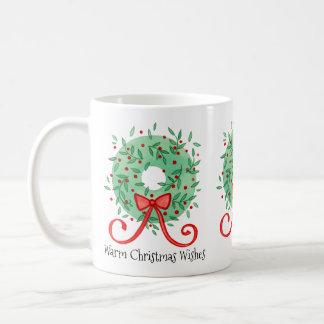 Les souhaits de Noël ajoutent l'année Mug