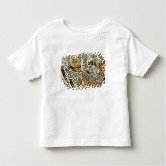Les souris enterrent le chat, Russe, fin du 18ème T-shirt Pour Les Tous Petits