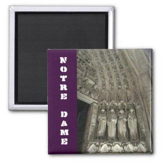 Les statuts de Notre Dame Magnets Pour Réfrigérateur