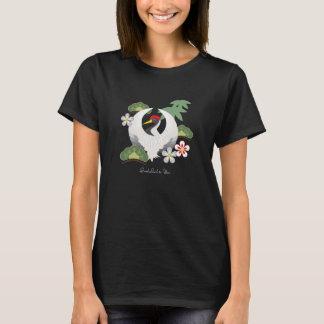 Les symboles chanceux japonais refroidissent le t-shirt