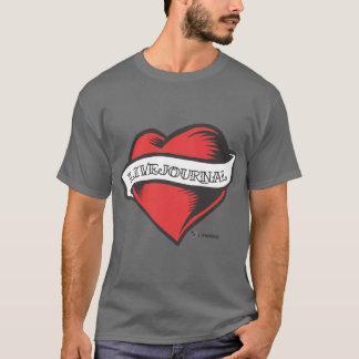 Les t de base des hommes (tatouage de LiveJournal) T-shirt