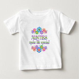 Les tantes font le Special de la vie T-shirt Pour Bébé