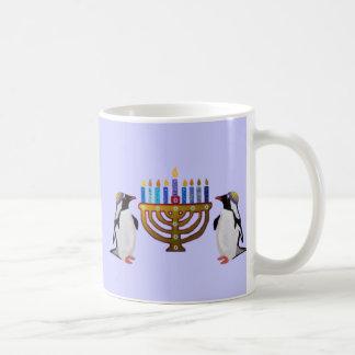 Les tasses choisies congelées de Hannukah