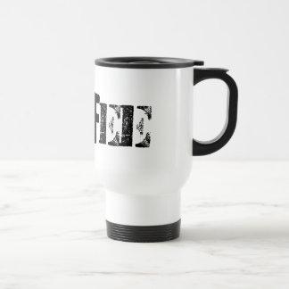 Les tasses faites sur commande de voyage de café -