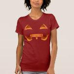 Les tee - shirts des femmes de citrouille de t-shirt