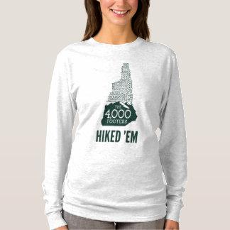 Les titres de bas de page de NH 4000 ont augmenté T-shirt