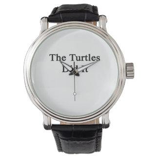Les tortues l'ont fait montres bracelet