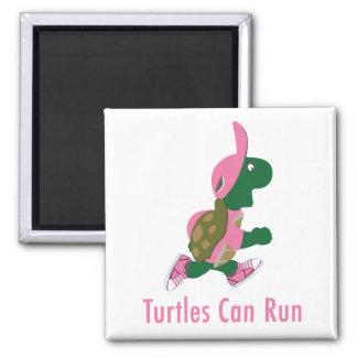 Les tortues peuvent fonctionner aimant