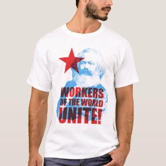 Les travailleurs de Karl Marx du monde unissent ! T-shirt
