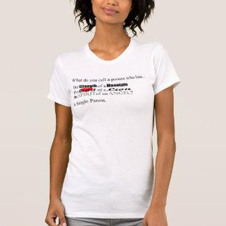 Les trois attributs (avant) t-shirt