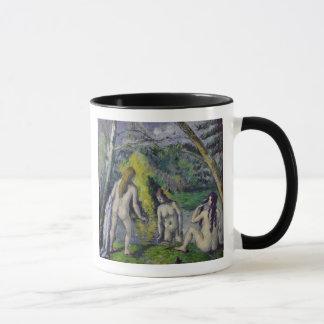 Les trois baigneurs, c.1879-82 mug
